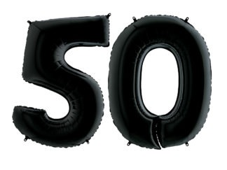 balon numer na urodziny