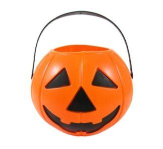 wiaderko na cukierki halloween