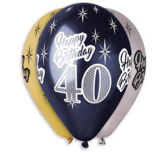 balony z nadrukiem 40
