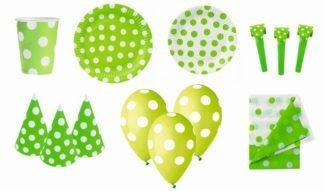 zestaw urodzinowy zielony