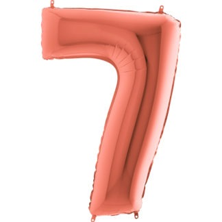balon cyfra 7