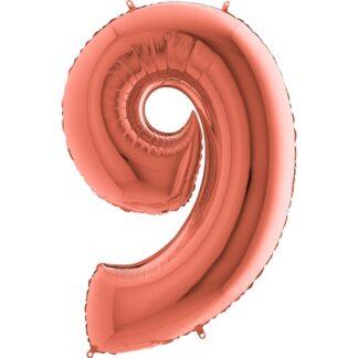 balon cyfra 9