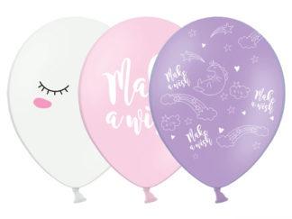 balony unicorn zestaw