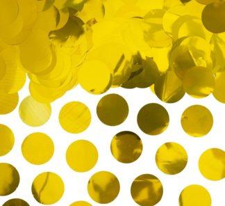 konfetti kółka złote