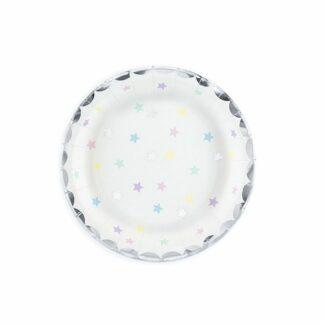 talerzyki kolorowe gwiazdki