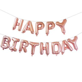 balony napis na urodziny