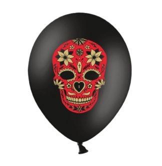 balony z czaszką muertos