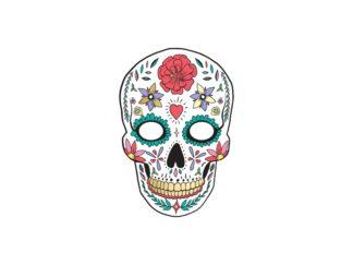 maska dia de muertos