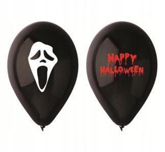 czarne balony na halloween