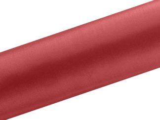 czerwony bieżnik satyna w rolce