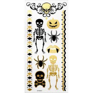 halloween ozdobne tatuaże
