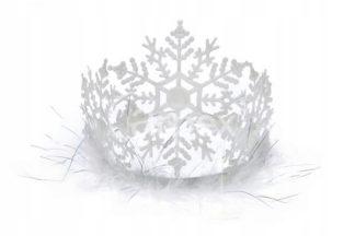 korona śnieżynki