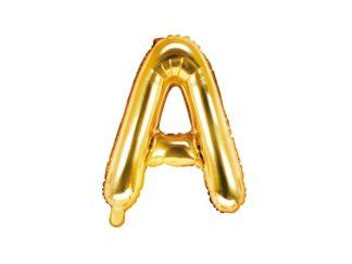 litera a złota