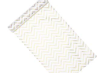 flizelina złote gwiazdki