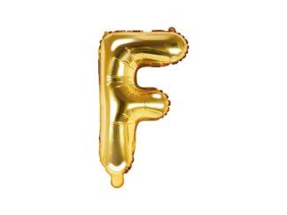litera f złota