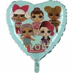 balon laleczki LOL