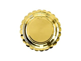 talerzyki złote