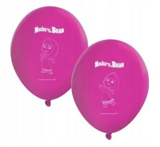 różowe balony masza