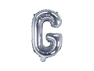 literka G srebrna