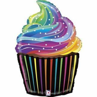 kolorowa babeczka balon