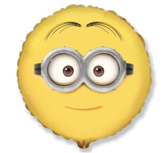 żółty balon minionek