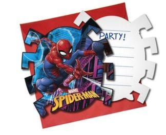 zaproszenia człowiek pająk