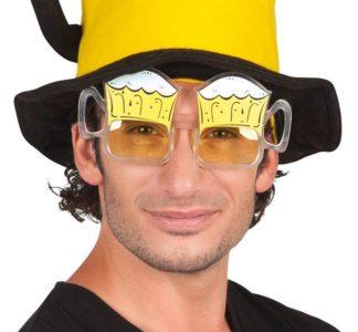 śmieszne okulary piwka